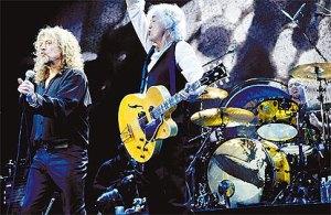 Robert Plant e Jimmy Plant [Dezembro de 2007]